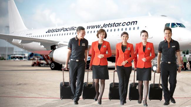 Đội ngũ tiếp viên của Jetstar Pacific Airlines
