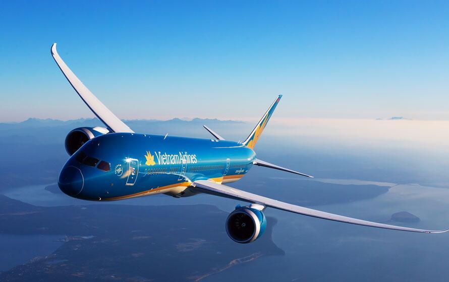 Máy bay hãng Vietnam Airlines