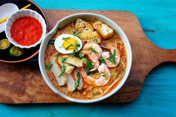 Bún Laksa - Món ăn đặc biệt ở Penang