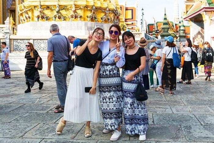 Lựa chọn trang phục khi du lịch Thái Lan tùy theo từng địa điểm