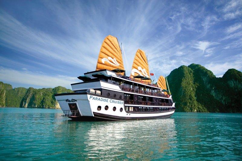 Du thuyền 5 sao Paradise Luxury