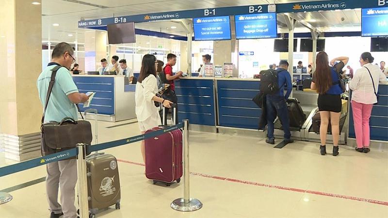Hành khách cần đến sớm khoảng 90p so với giờ bay để làm thủ tục nhanh chóng
