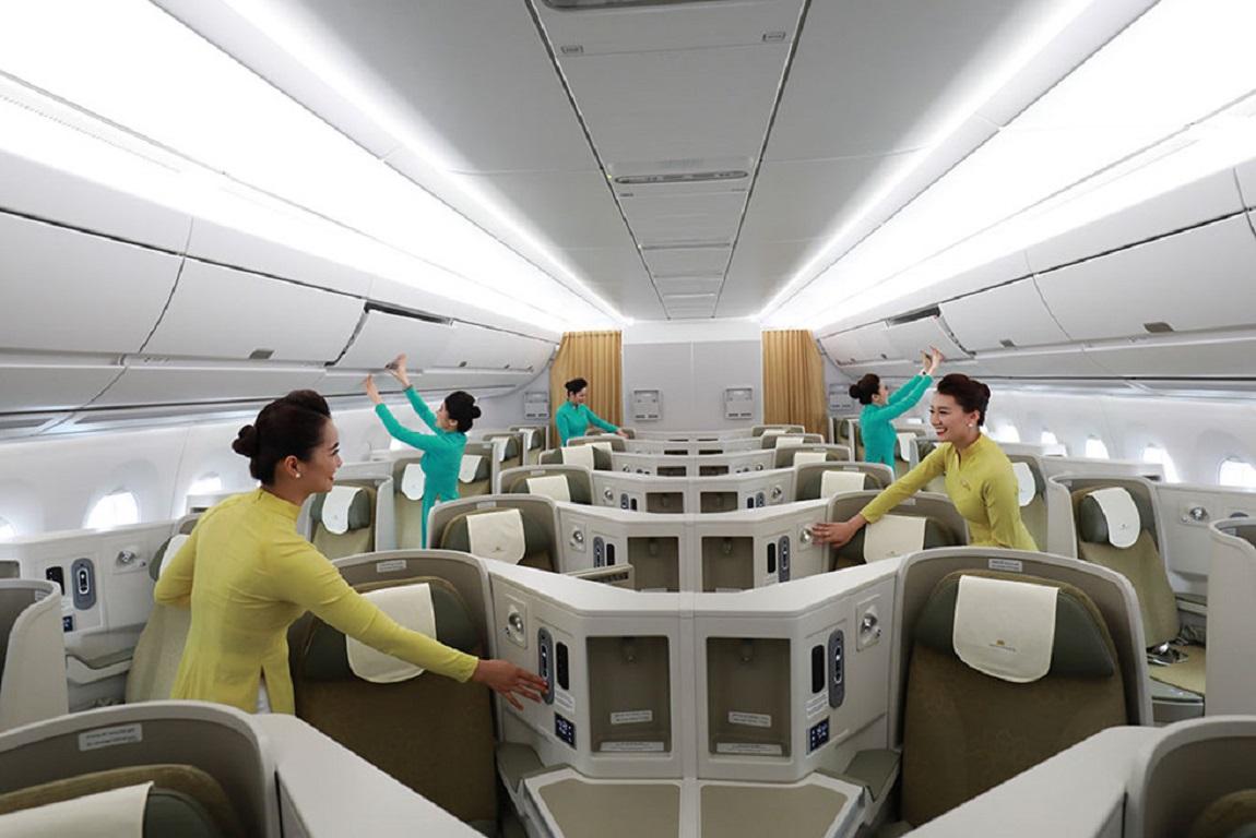 Chất lượng tiện nghi của hãng hàng không Vietnam Airlines