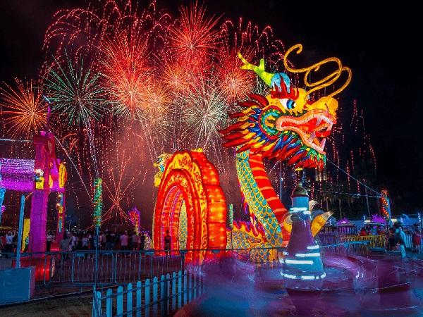 Lễ hội River Hongbao diễn ra vào tháng 1