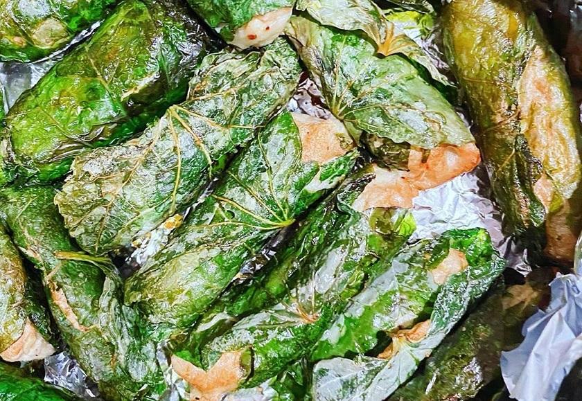 Chả cá Nha Trang cuốn lá lốt