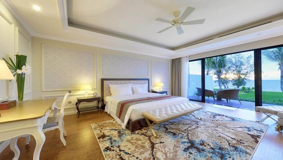 Không gian phòng nghỉ sang trọng tại Vinpearl Resort & Golf Phú Quốc