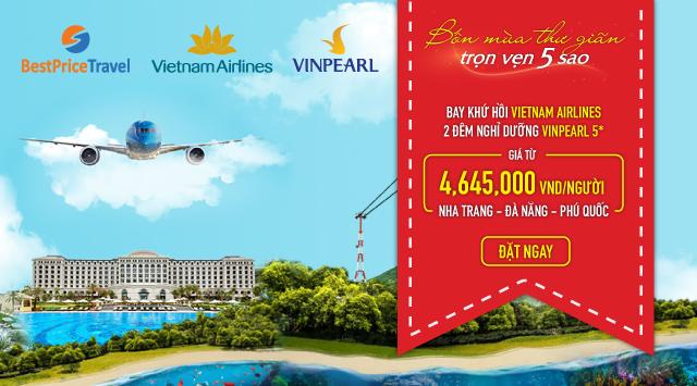 Voucher VNV – Sự hợp tác của Vietnam Airlines và VinGroup.