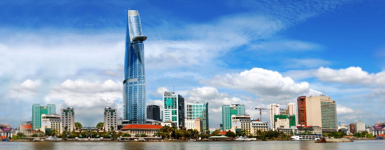 Toà tháp Bitexco cao nhất thành phố