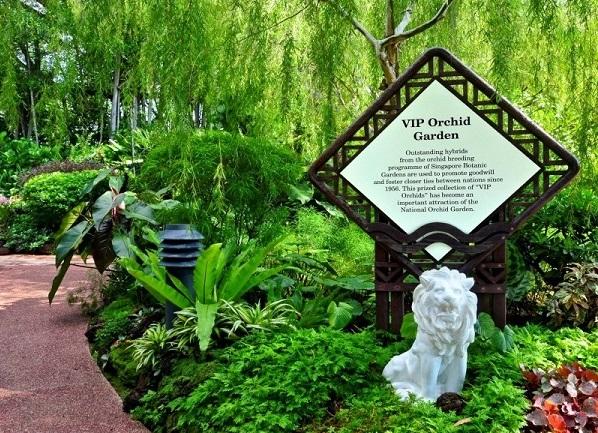 Khu vực Burkill Hall - Nơi dành cho những loại lan quý hiếm