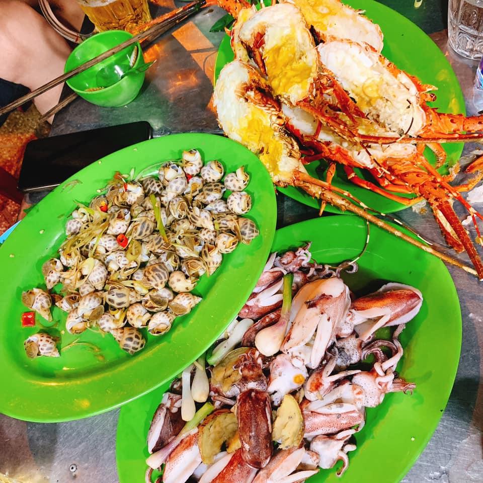 Hải sản Bờ Kè - Địa điểm ăn uống Nha Trang giá rẻ không thể bỏ lỡ