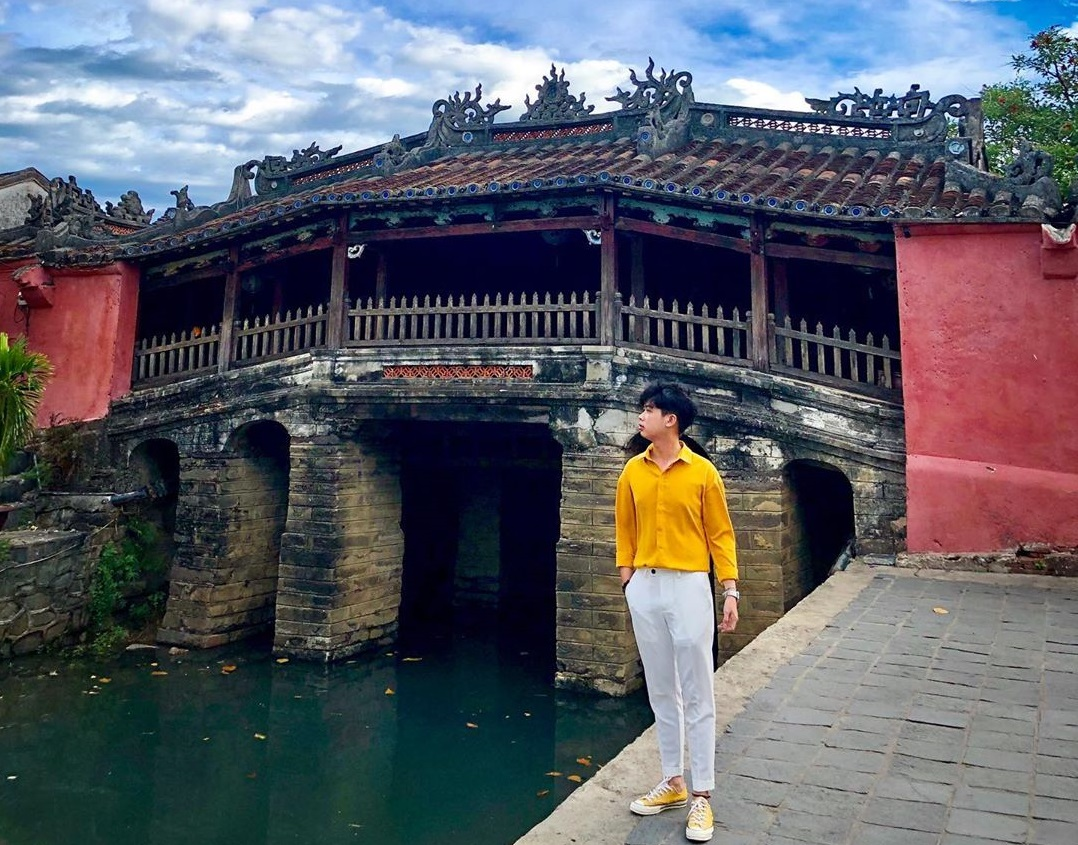 Chùa Cầu là một trong top 10 tọa độ chụp ảnh đẹp ở Hội An