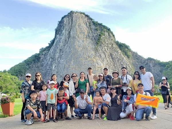 Hình ảnh khách hàng đi tour Thái Lan của BestPrice