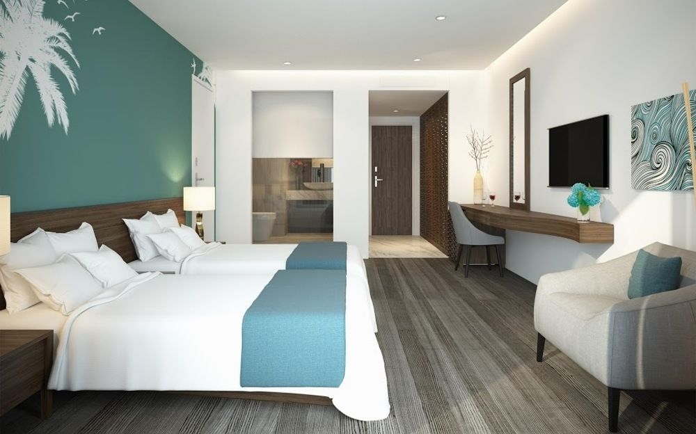 Phòng khách sạn 5 sao.