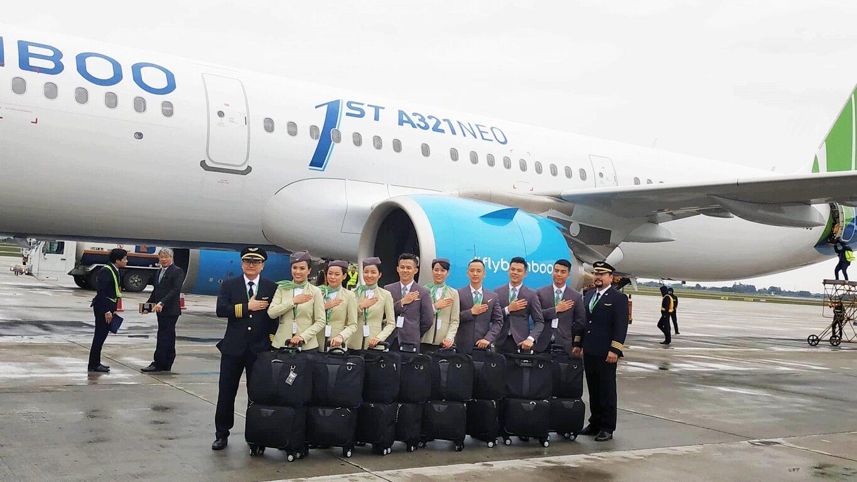 Đội ngũ tiếp viên chuyên nghiệp của Bamboo Airways