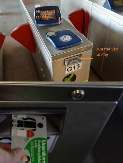 Cổng kiểm soát thẻ BTS