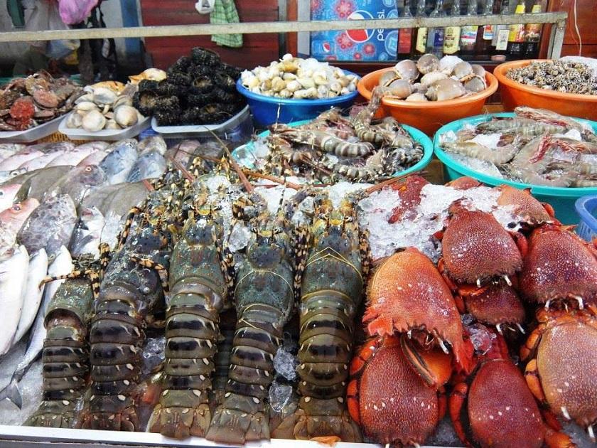 Hải sản tươi Phú Quốc