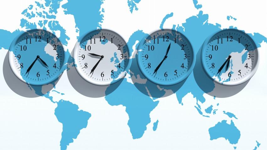 Sự chênh lệch múi giờ giữa các quốc gia