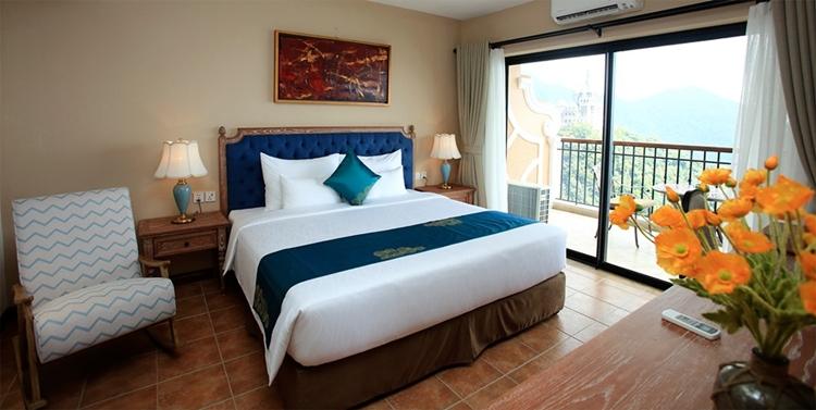 Phòng tại khách sạn Venus Tam Đảo