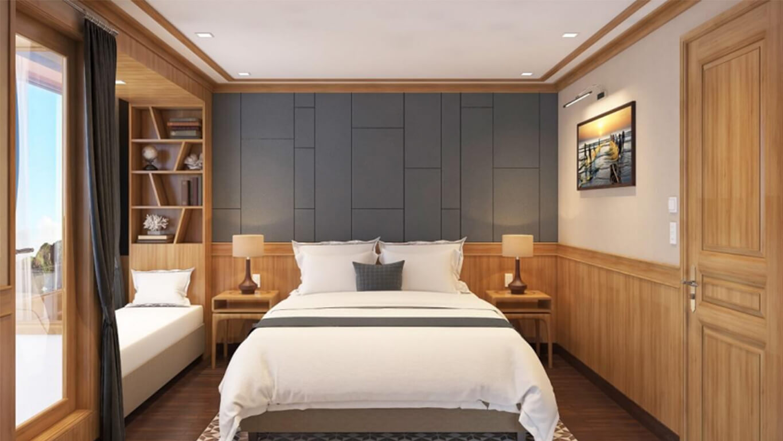 Phòng nghỉ hiện đại tiện nghi