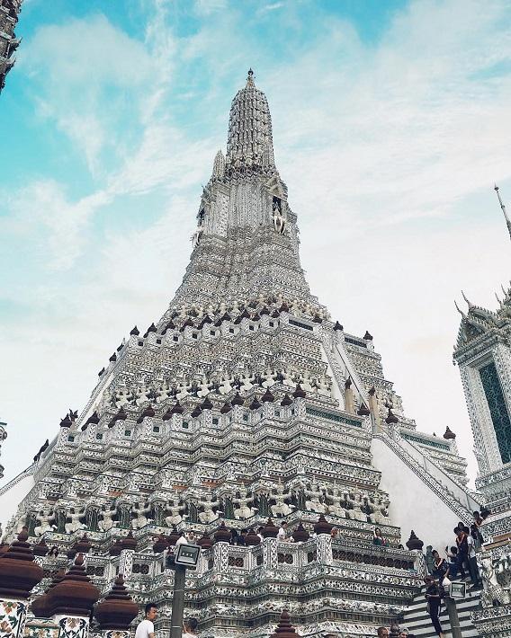 Chùa Bình Minh Wat Arun Thái Lan