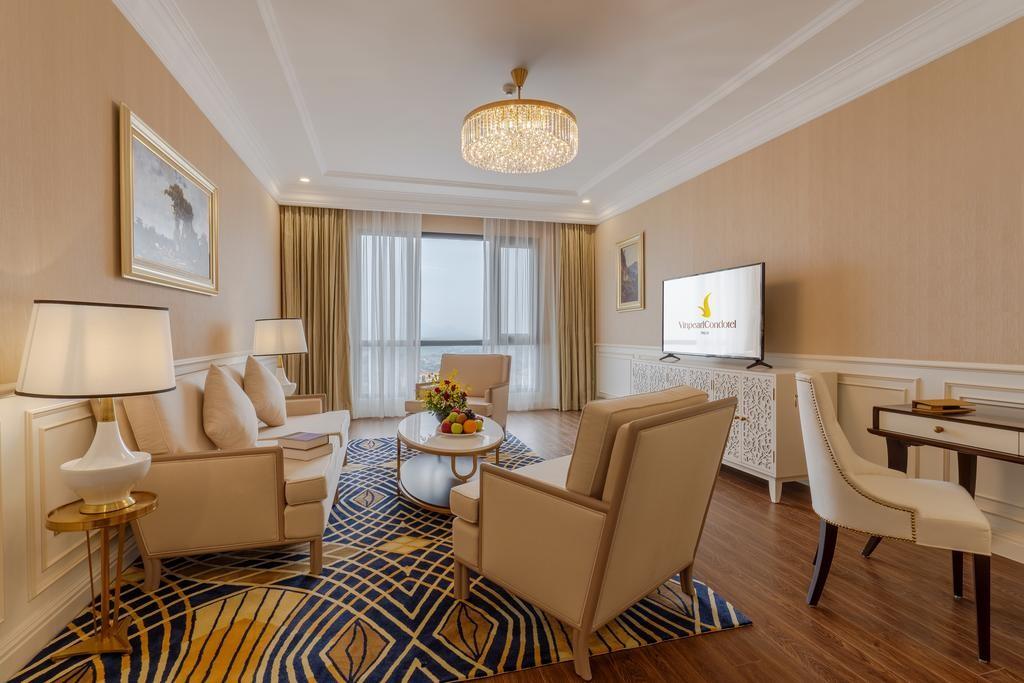 Khách sạn có 180 phòng nghỉ được thiết kế theo mô hình căn hộ thích hợp cho nhu cầu nghỉ dưỡng cao cấp
