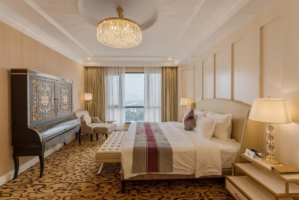 Phòng nghỉ khách sạn sang trọng và tiện nghi