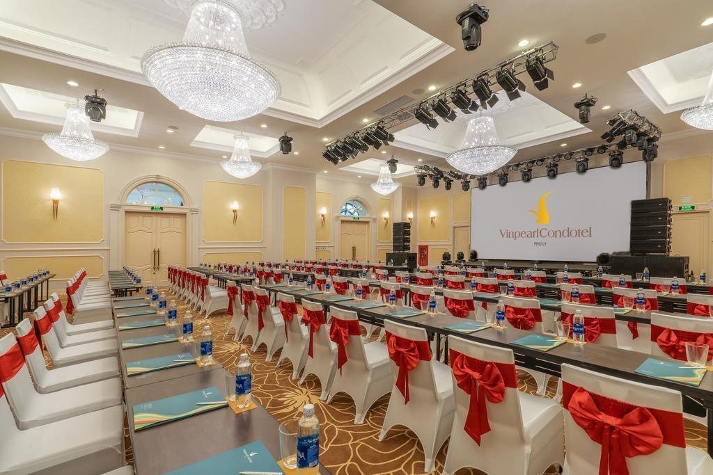 Hệ thống các phòng hội nghị, phòng tổ chức tiệc chuyên nghiệp và ấn tượng