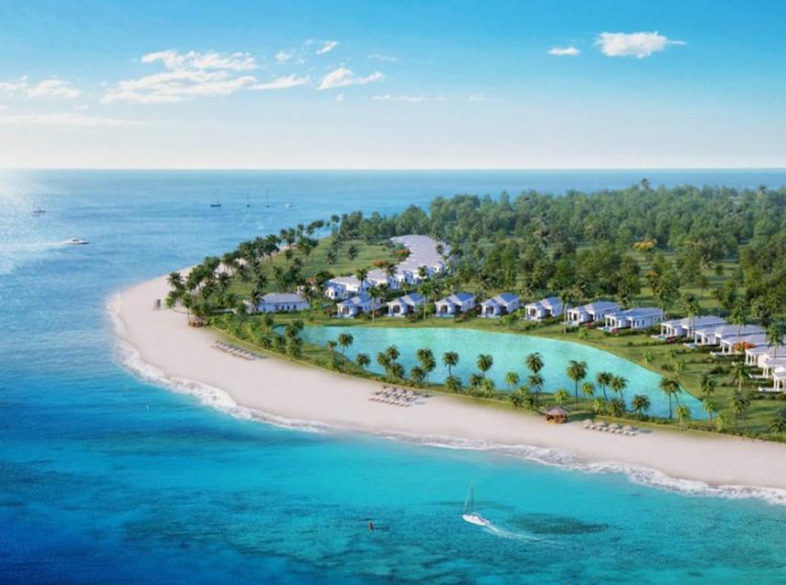 Vinpearl Discovery Cửa Hội nằm trên một khu đất rộng lớn, ôm trọn bờ biển Cửa Hội