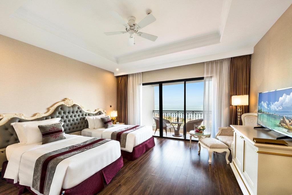 Phòng nghỉ tiện nghi tại khách sạn