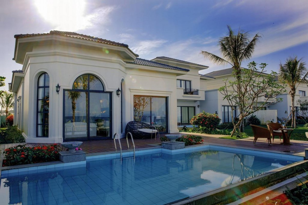 Villa phù hợp cho chuyến du lịch cùng cả gia đình hoặc một nhóm bạn