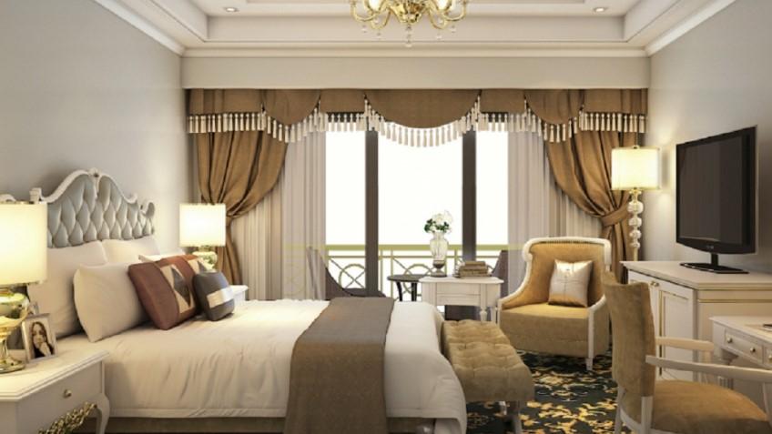 Mỗi phòng đều có ban công rộng với view tuyệt đẹp
