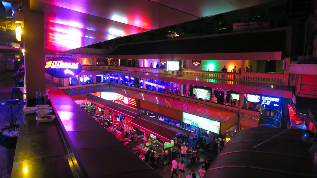 Khu đèn đỏ Nana Plaza, Thái Lan