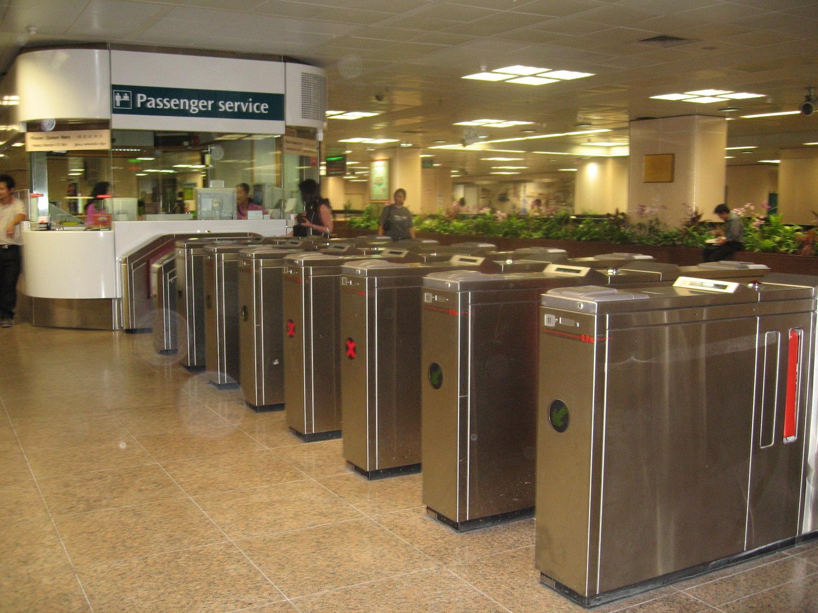 Quầy bán vé tại nhà ga (Passenger service)