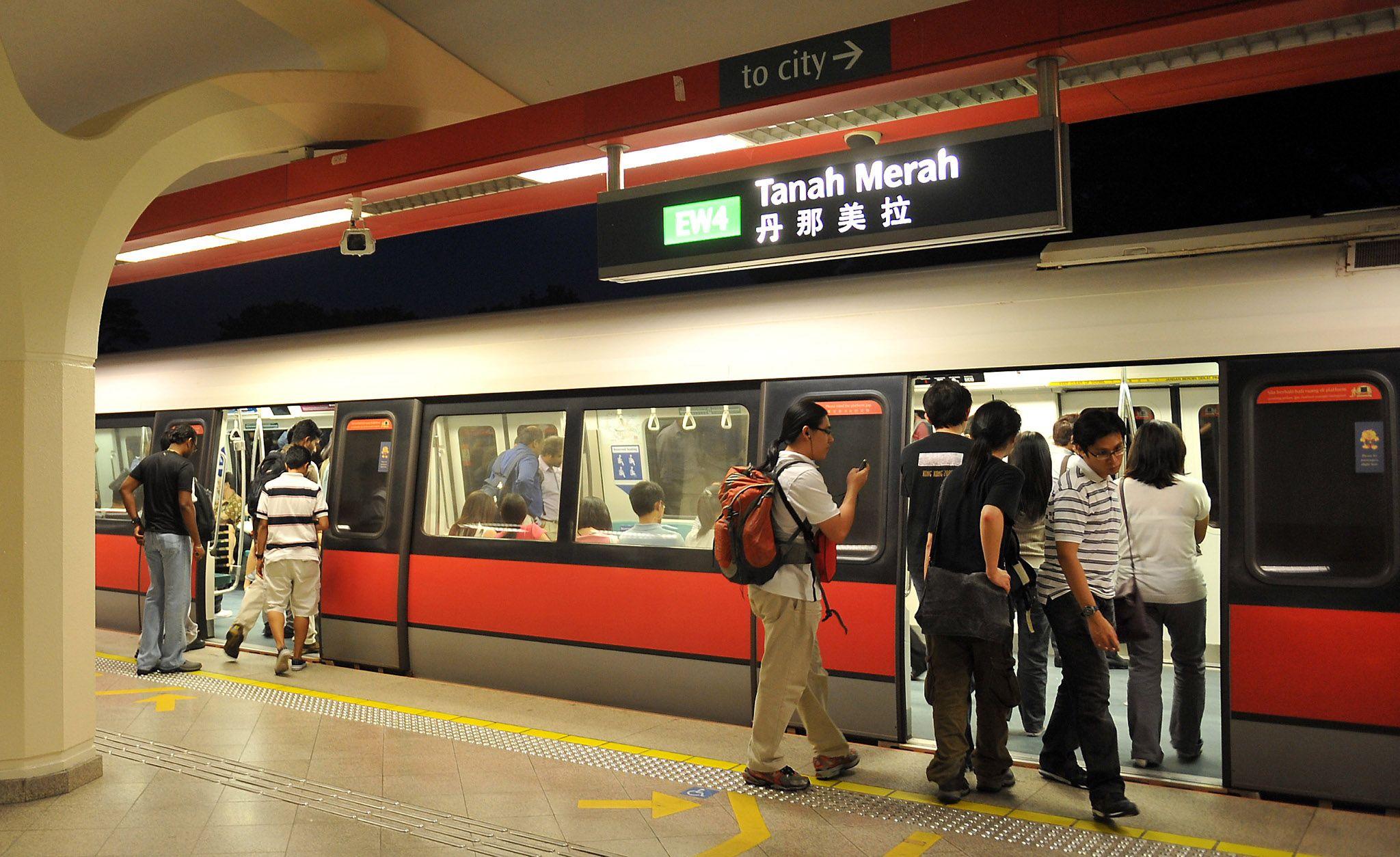 Tàu điện ngầm tại Singapore