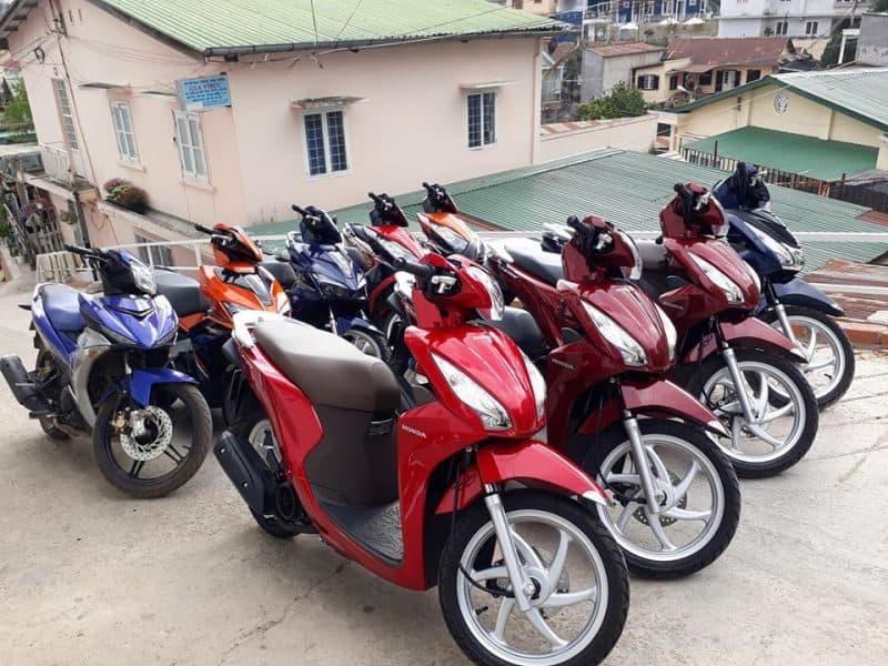 Xe máy là phương tiện di chuyển ở Đà Nẵng phổ biến nhất