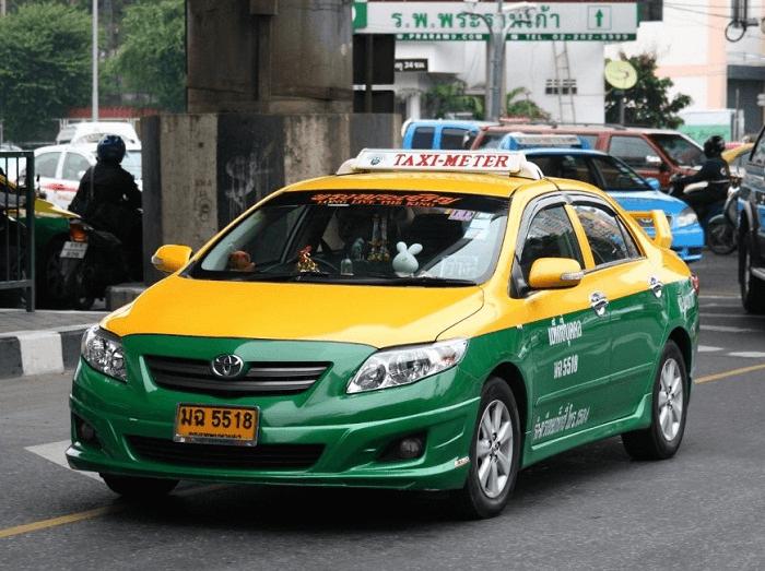 Taxi tại Phuket