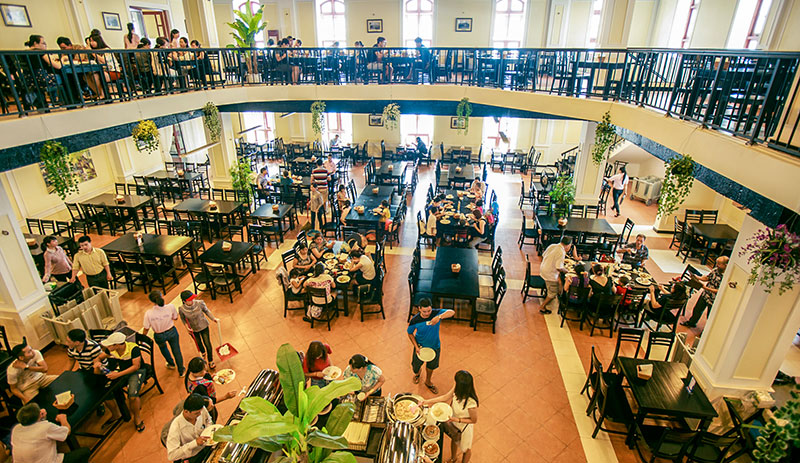 Nhà hàng tại Bà Nà Hills