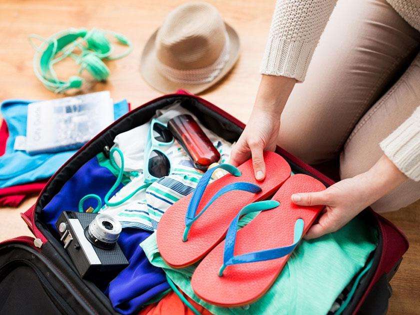 Chuẩn bị hành lý khi đi du lịch Bãi Cháy