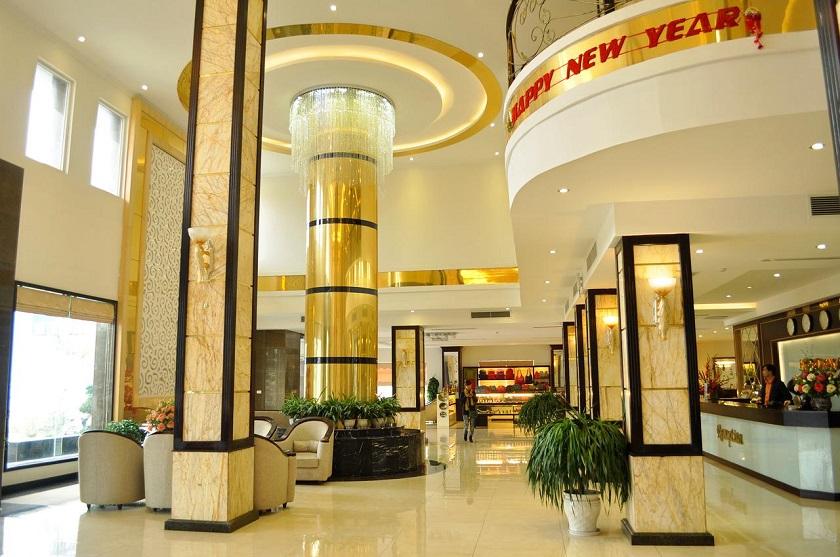 Sảnh khách sạn Golden Hạ Long
