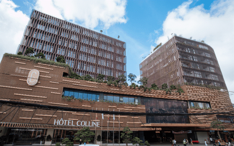 hotel colline -  khách sạn mang kiến trúc Pháp
