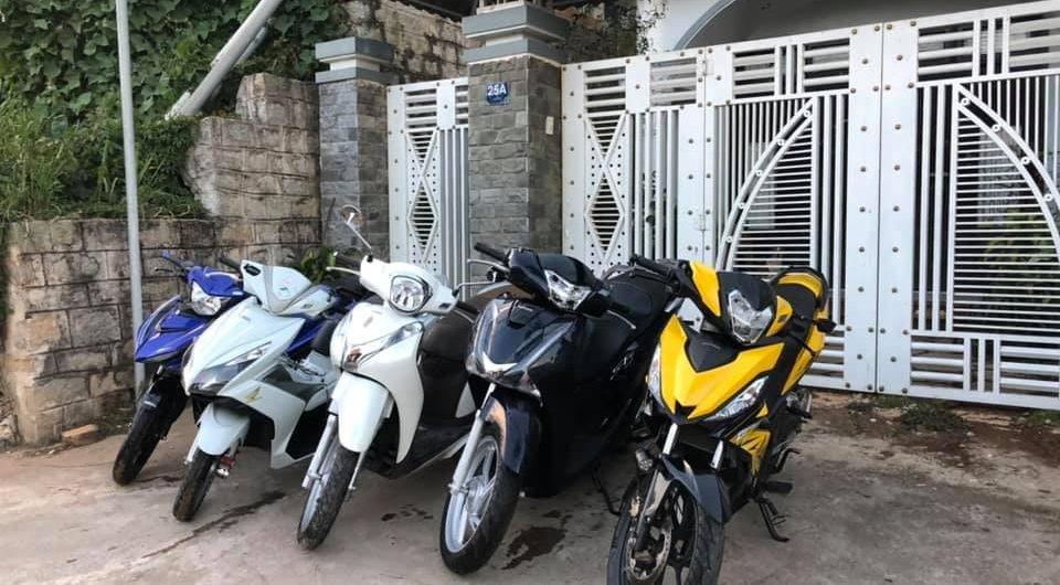Những cửa hàng cho thuê xe máy ở Đà Lạt