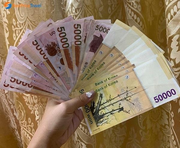 Tiền Won (KRW) Hàn Quốc