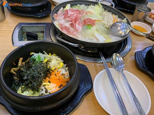 Ăn gì khi đi du lịch Hàn Quốc?