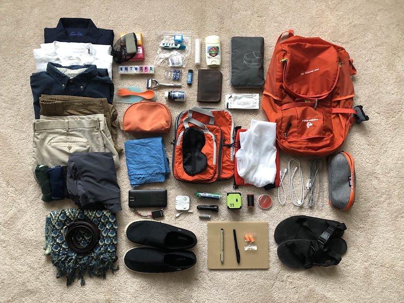 Chuẩn bị hành lý du lịch Hội An