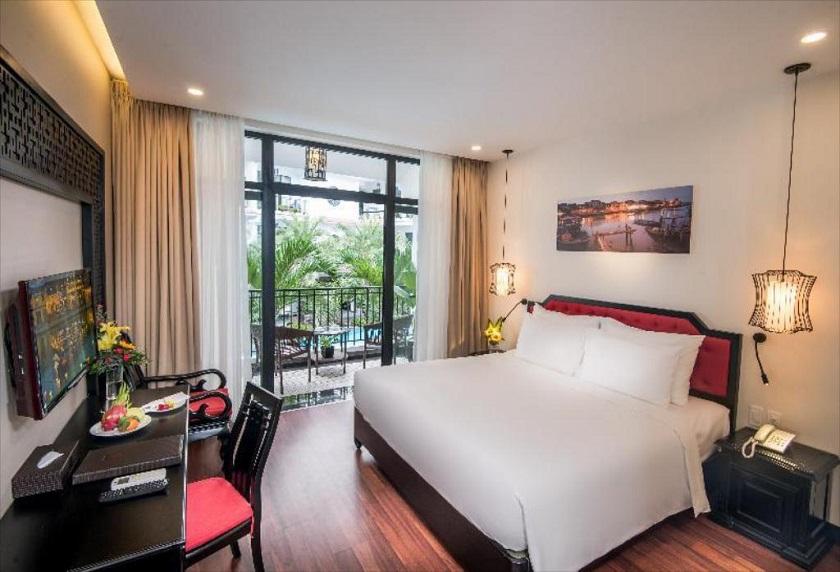 Phòng ngủ tại Belle Maison Hadana Hội An Resort & Spa