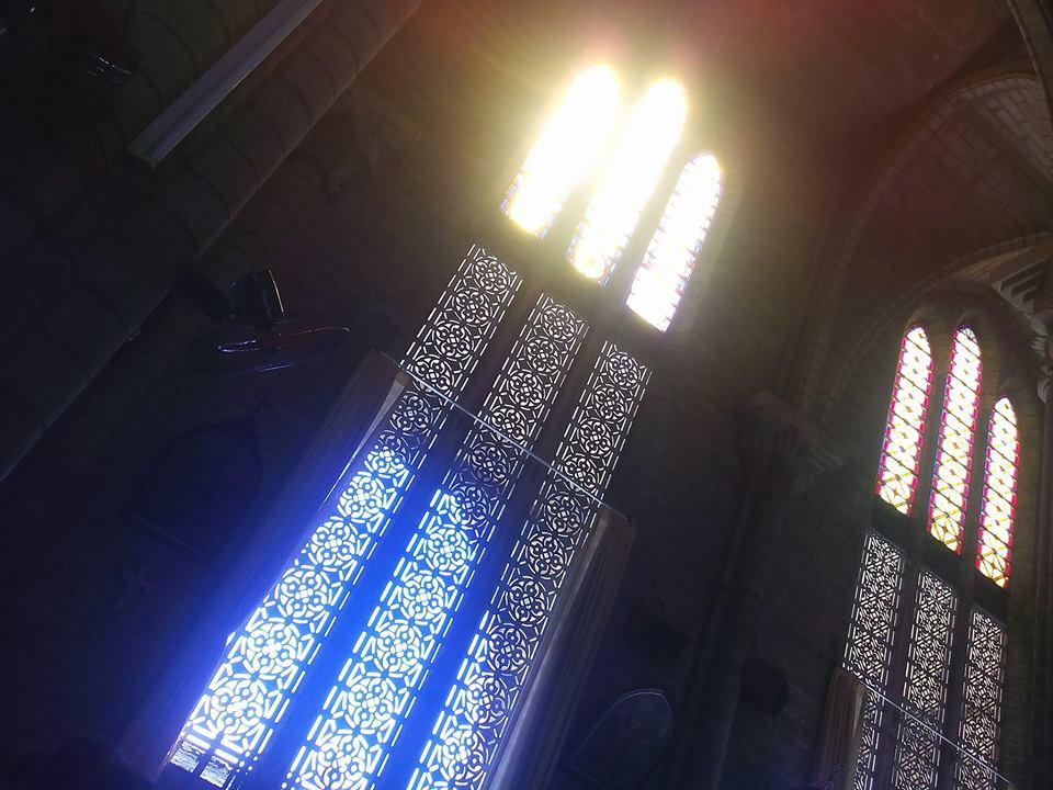 Một góc kiến trúc nhà thờ