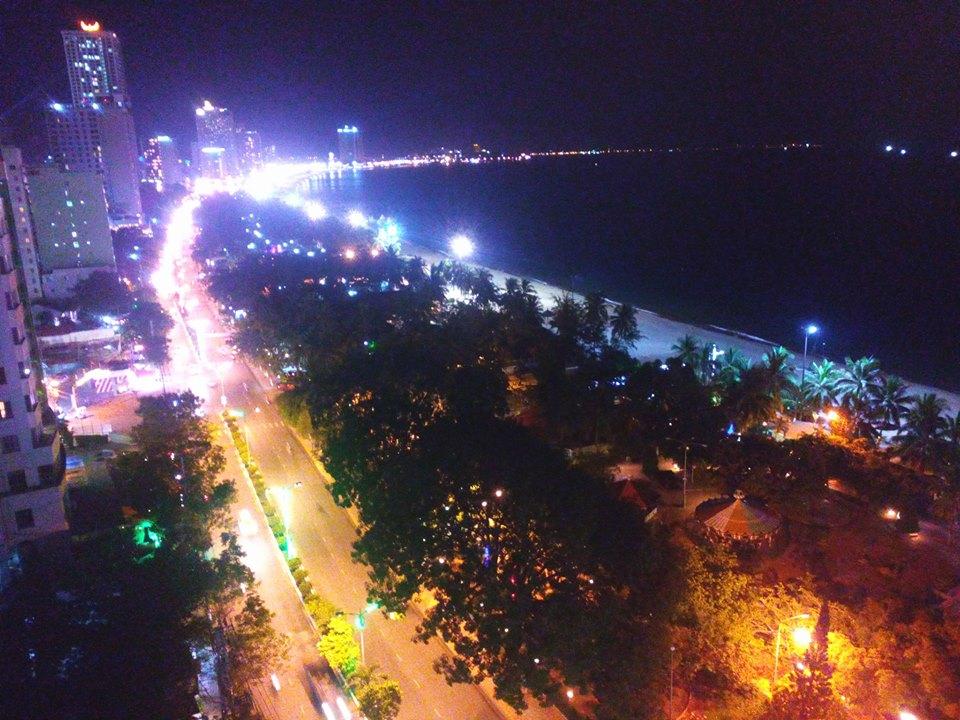 Đêm Nha Trang nhìn từ trên cao