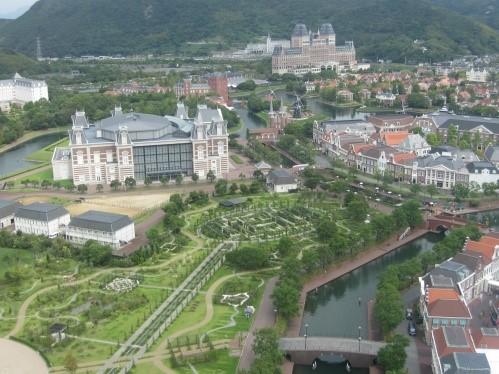 Công viên chủ đề Châu Âu ở Kyusu