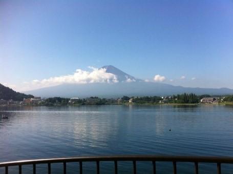 Núi Phú Sĩ lakeview