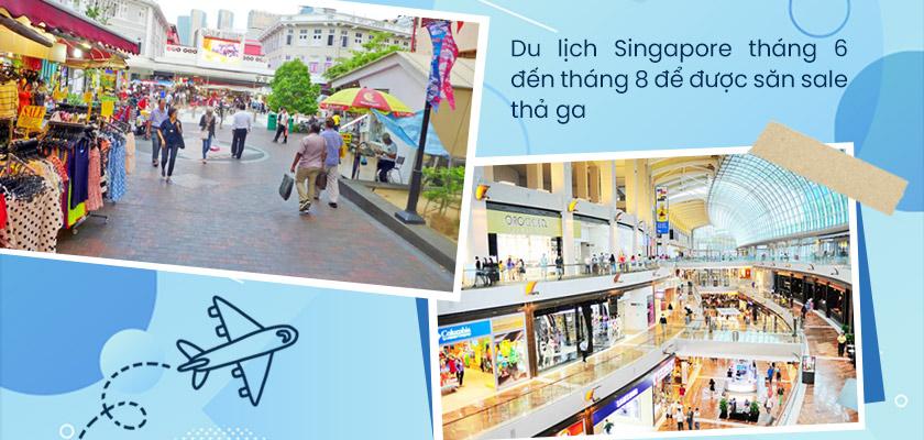 Thời gian nên đi du lịch Singapore